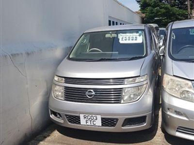 used Nissan Elgrand 3.5 V6 8 seat new model