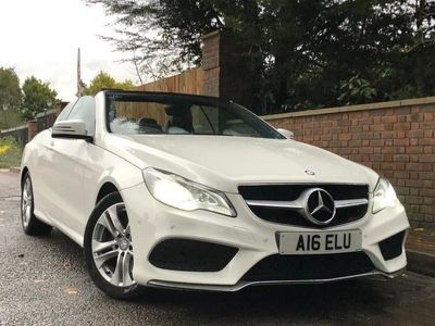 used Mercedes E200 E-CLASS 2.0LAMG SPORT 2d AUTO 184 BHP