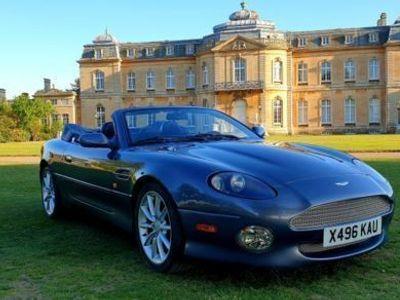 used Aston Martin DB7 DB7Vantage Volante 5.9, V12 420BHP, 6 Speed Manual, Super Rare,