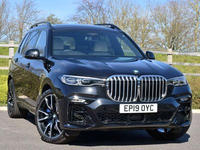 used BMW X7 Xdrive30D M Sport 5Dr Step Auto