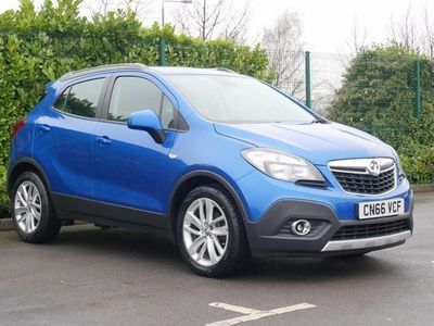 used Vauxhall Mokka 1.6i Exclusiv 5dr Blue Manual Petrol