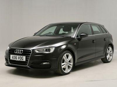 used Audi A3 2.0 TDI S Line 5dr S Tronic [Nav] - METALLIC PAINT - RAIN SENSORS - SAT NAV