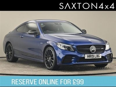 used Mercedes C43 AMG C Class 3.0V6 AMG Coupe 2dr Petrol G-Tronic+ 4MATIC (s/s) (390 ps)
