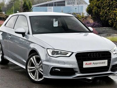 used Audi A3 S line Navigation 1.4 TFSI cylinder on demand 150 PS 6 speed 3-Door