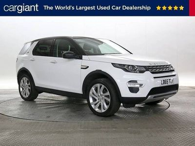 used Land Rover Discovery Sport 2.0 TD4 180 HSE Luxury 5dr