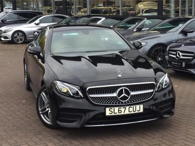 used Mercedes E220 E CLASS DIESEL COUPEAMG Line Premium 2dr 9G-Tronic