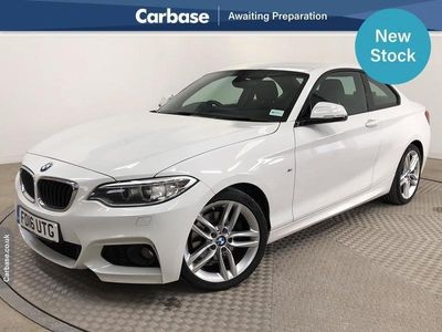 used BMW 220 2-Series Coupe d (190bhp) M Sport 2d