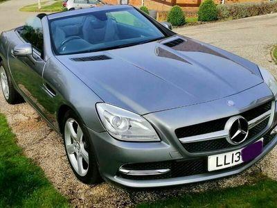 used Mercedes SLK250 SLK 2.1CDI BlueEFFICIENCY 7G-Tronic Plus (s/s) 2dr