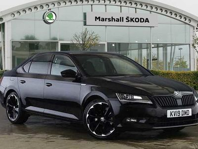 used Skoda Superb 2.0 TDI CR 190 Sport Line Plus 4X4 5dr DSG 7 Speed