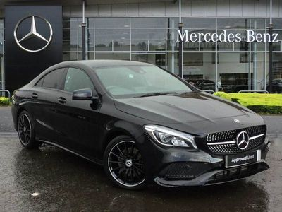 used Mercedes CLA220 CLAAmg Line Night Edt 4Matic 4Dr Tip Auto