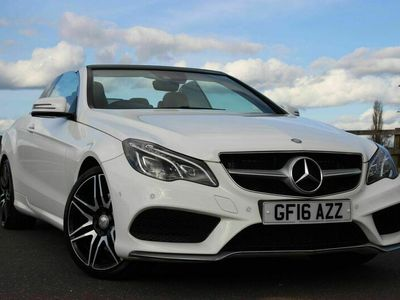 used Mercedes E400 E Class 3.0AMG Line Edition Cabriolet G-Tronic (s/s) 2dr