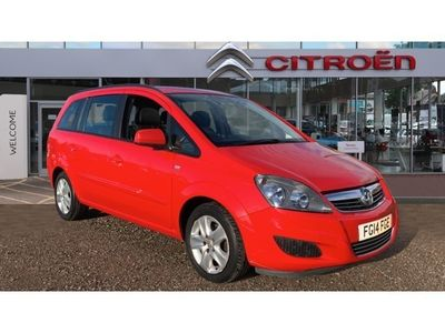 used Vauxhall Zafira 1.8i [120] Exclusiv 5dr Petrol Estate