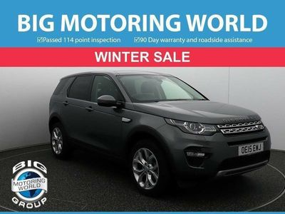 used Land Rover Discovery Sport SD4 HSE 2.2 5dr
