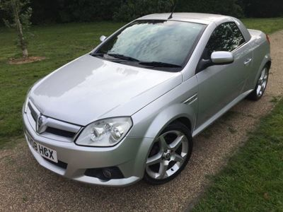 used Vauxhall Tigra 1.4 i 16v Exclusiv 2dr (a/c)