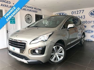 used Peugeot 3008 1.6 BLUE HDI S/S ALLURE 5d 120 BHP, 2017 ( )
