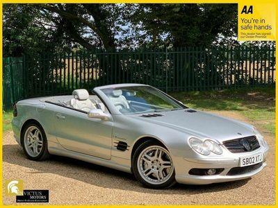 used Mercedes SL55 AMG SL 5.4AMG KOMPRESSOR 2d 493 BHP HEATED COOLED MASSAGE LEATHER SEATS