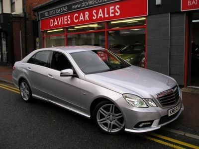 used Mercedes E200 E CLASS 2.1CDI BLUEEFFICIENCY SPORT 4DR AUTOMATIC
