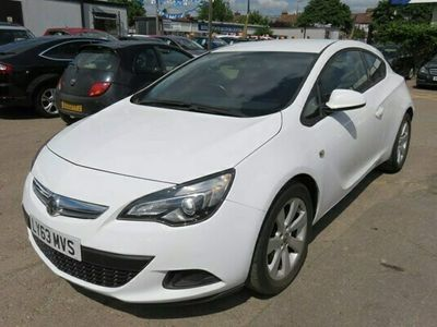 used Vauxhall Astra GTC Coupe 1.4T 16V Sport 3d
