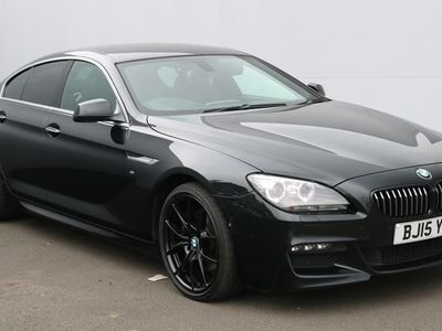 used BMW 640 6 SERIES GRAN COUPE 3.0 D M SPORT 4dr Auto