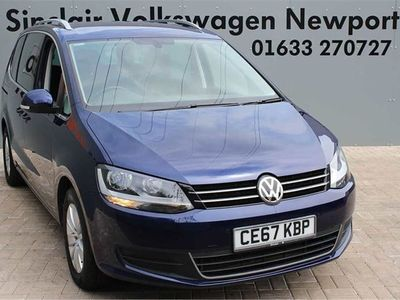used VW Sharan 2.0 TDI CR BlueMotion Tech 150 SE Nav 5dr DSG