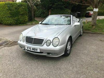 used Mercedes CLK230 CLK 2.3Kompressor Elegance Cabriolet 2dr