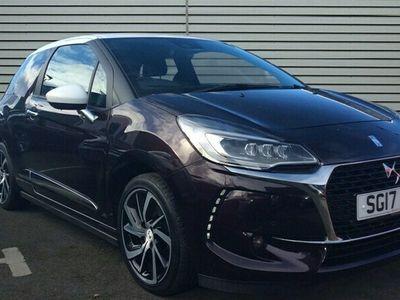 used DS Automobiles DS3 1.2 PureTech Prestige Hatchback 3dr Petrol (s/s) (130 ps)