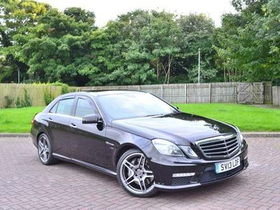 used Mercedes E63 AMG E Class 5.5BlueEFFICIENCY AMG MCT 7S (s/s) 4dr
