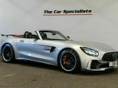 used Mercedes AMG GT R ROADSTER V8, ONLY 60 MILES! IRIDIUM SILVER, AIRSCARF, AMG HIGH PERFORMANC 4.0 2dr