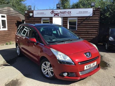 used Peugeot 5008 2.0 HDi FAP Exclusive 5dr