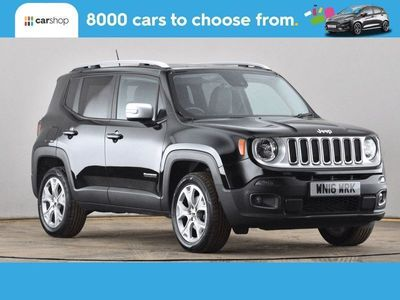 used Jeep Renegade 2.0 Multijet Limited 5dr 4WD Auto Black Automatic Diesel