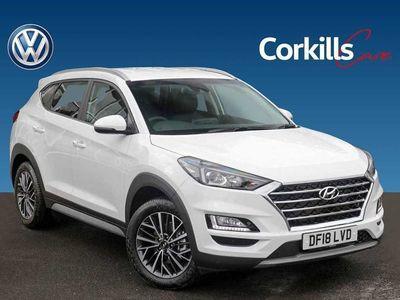 used Hyundai Tucson 1.6 Crdi Premium 5Dr 2Wd