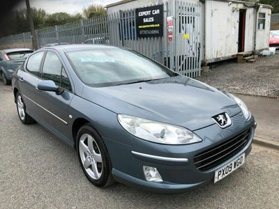 used Peugeot 407 2.0 HDi Sport 4dr