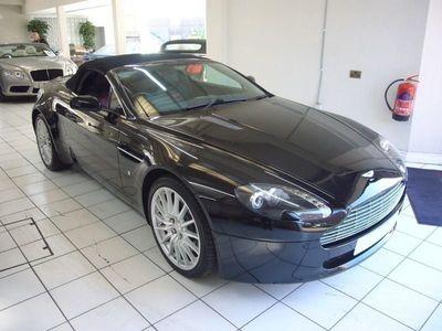 used Aston Martin V8 VANTAGEROADSTER ONYX BLACK 2007 07