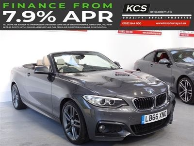 used BMW 220 2 SERIES 2.0 I M SPORT 2d 181 BHP PRO NAV - LEATHER - XENONS
