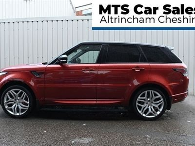 used Land Rover Range Rover Sport 5.0 V8 AUTOBIOGRAPHY DYNAMIC 5d 510 BHP Electric Side Steps,