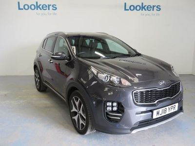 used Kia Sportage 2017 Stockport 1.6T Gdi Gt-Line 5Dr