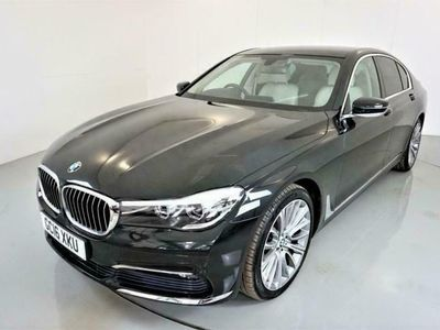 used BMW 730 7 SERIES 3.0 D 4d AUTO-1 OWNER CAR-ALPINE WHITE NAPPA LE diesel saloon