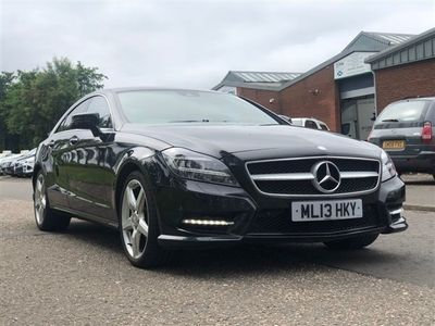 used Mercedes CLS250 CLS Class 2.1CDI BLUEEFFICIENCY AMG SPORT 4d 204 BHP Coupe 2013