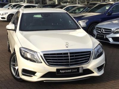 used Mercedes S350 S CLASS DIESEL SALOONAMG Line 4dr 9G-Tronic