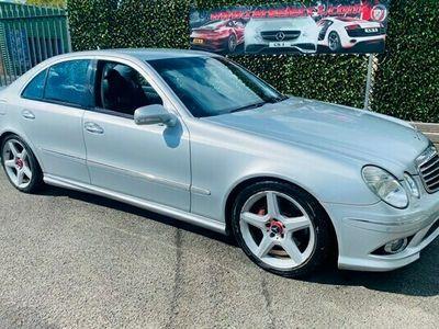 used Mercedes E320 E ClassCDI Sport AMG 4dr Tip Auto Saloon 2007