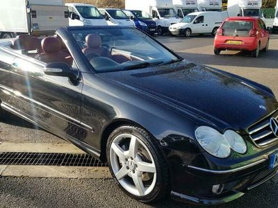 used Mercedes CLK280 Sport 2dr Tip Auto CABRIOLET only 38k Miles GORGEOUS