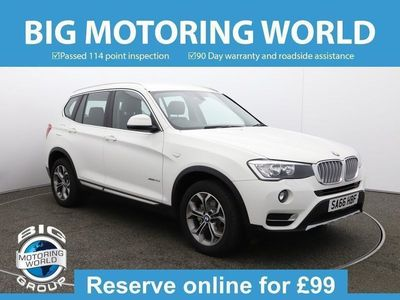 used BMW X3 XDRIVE20D XLINE for sale   Big Motoring World
