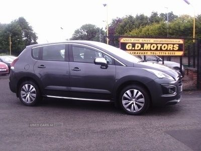 used Peugeot 3008 1.6 ACTIVE BLUE HDI