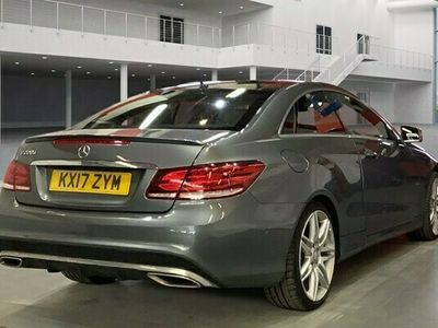 used Mercedes E220 E-Class CoupeAMG Line Edition 2d 7G-Tronic