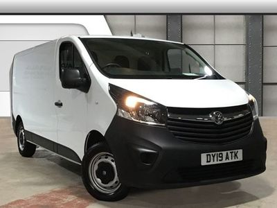 used Vauxhall Vivaro 2900 1.6CDTI 120PS H1 Van
