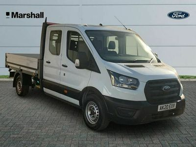 used Ford Transit 2.0TDCi 350 L3H1 Leader (130PS)(EU6dT) RWD Double Cab
