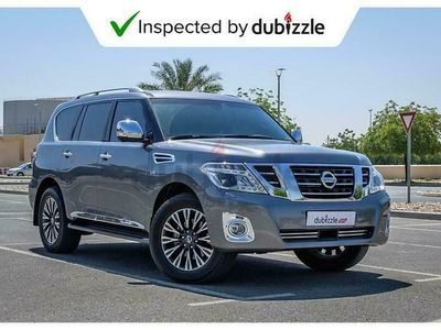 used Nissan Patrol Platinum INCLUDES SHIPPING, DUTIES AND UK REG COSTS