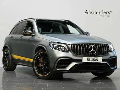 used Mercedes GLC63 AMG Glc Class 4.0V8 BiTurbo AMG S Edition 1 SpdS MCT 4MATIC+ (s/s) 5dr