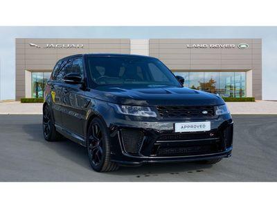 used Land Rover Range Rover Sport 5.0S V8 (575hp) SVR Auto 5-Door