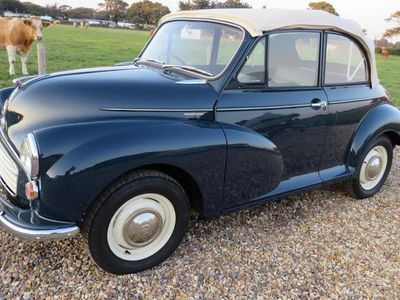 used Morris Minor convertible [nut and bolt restored ] 2-Door